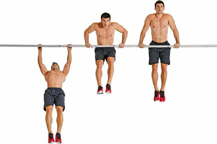 cómo hacer dominadas muscle up