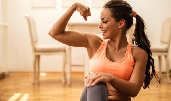 como ganar masa muscular en mujeres