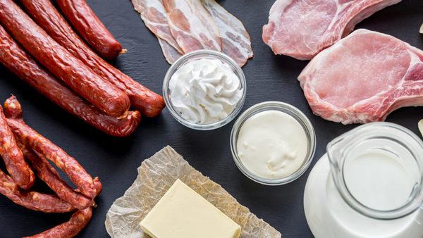 alimentos que tienen grasas saturadas