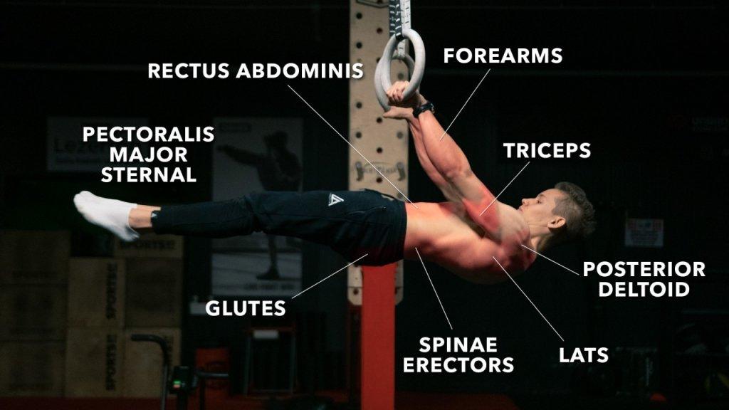 ejercicios de calistenia front lever