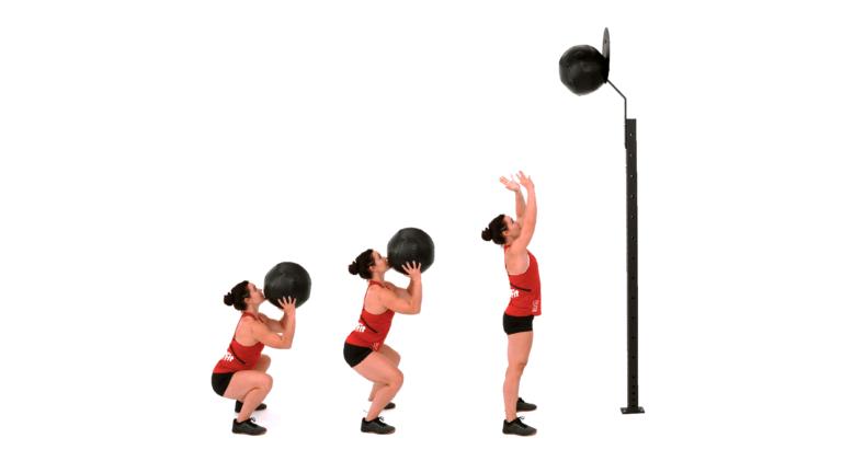 Lanzamiento de pelota a pared