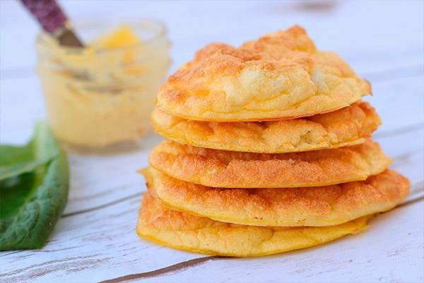 cómo hacer pan keto nube