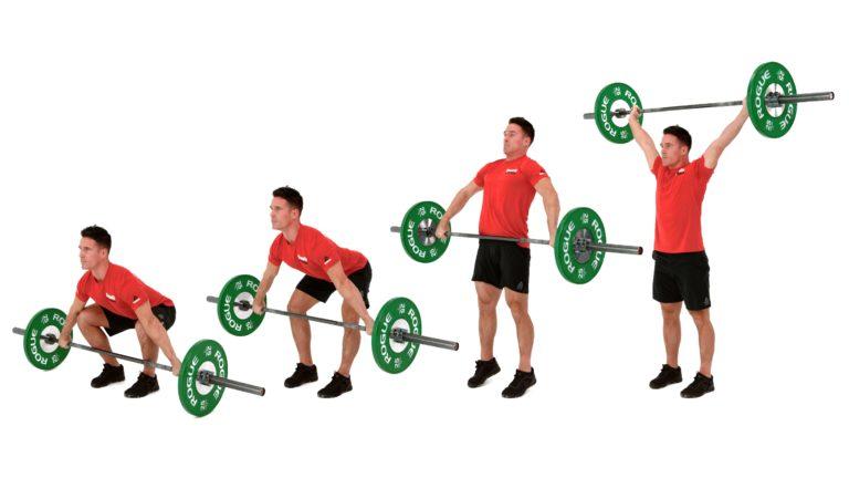 Ejercicios de crossfit: Muscle Snatch